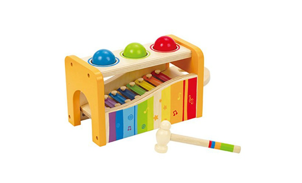 Thise Hape musical toy is toxin free