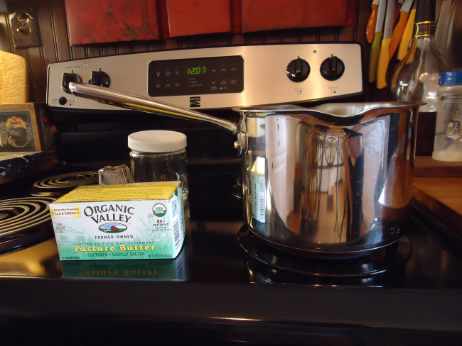 Stove Top Ghee (Clarified Butter)
