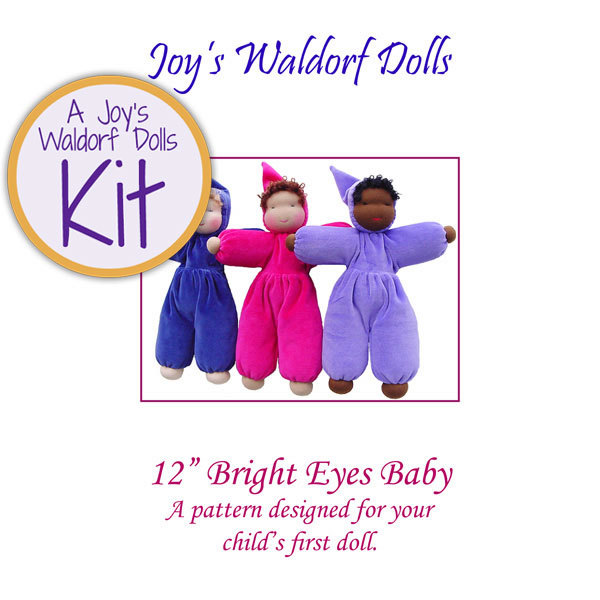 Image of: Bright Eyes Waldorf Doll Making Kit