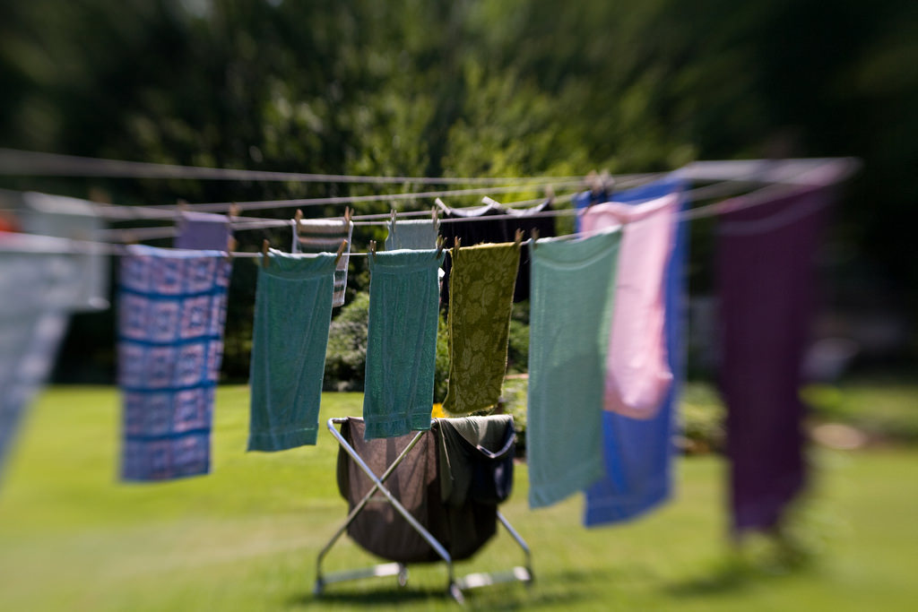 Every Spring I look forward to using my clothesline, and here's why.