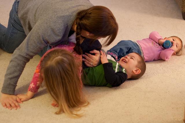 child-led choreography, parent child improv,