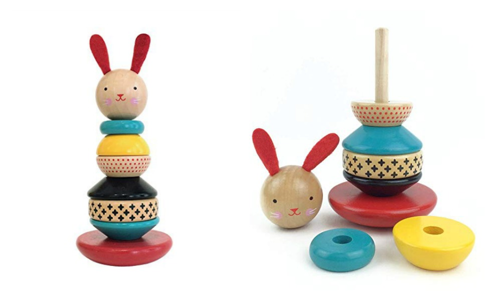 This stacker toy will delight for ages
