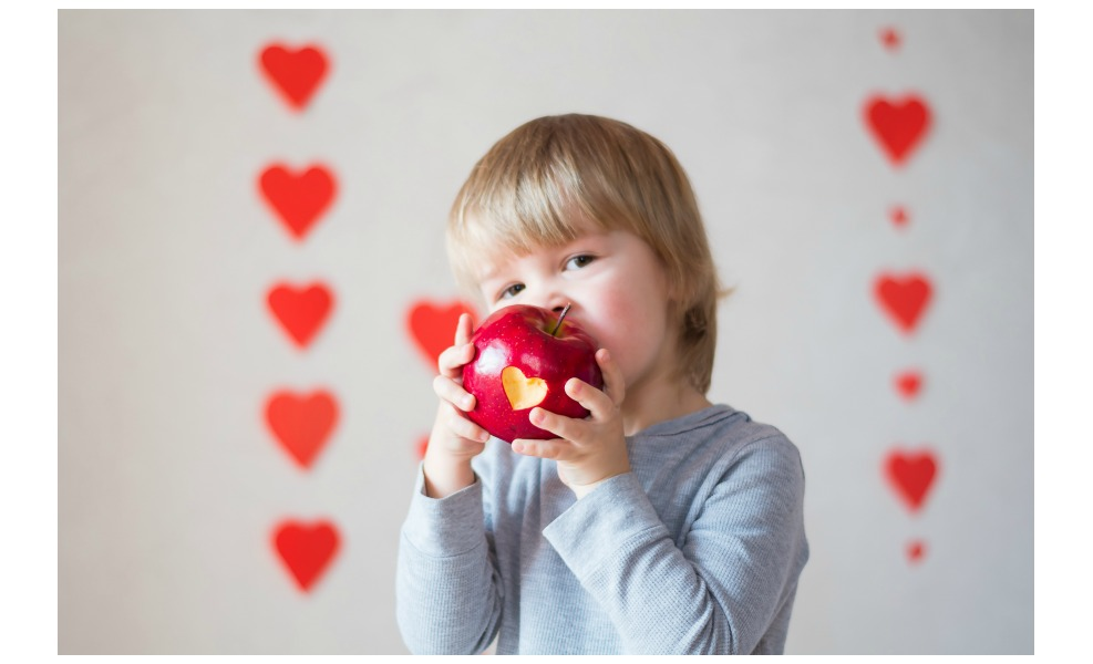 Here are 5 valentine's day treats that are healthy for kids.