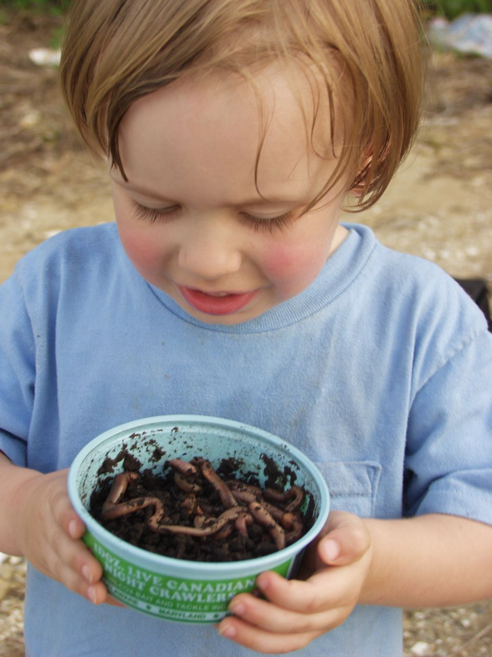 Vermicomposting is a sure way to get your kid into gardening.