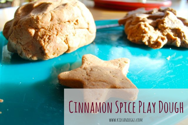 An After-School Activity Perfect for Fall: Homemade Cinnamon Spice Play Dough!
