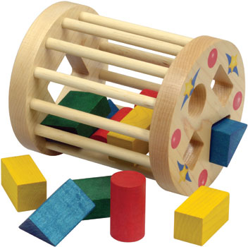 Image of: Cage Shape Sorter