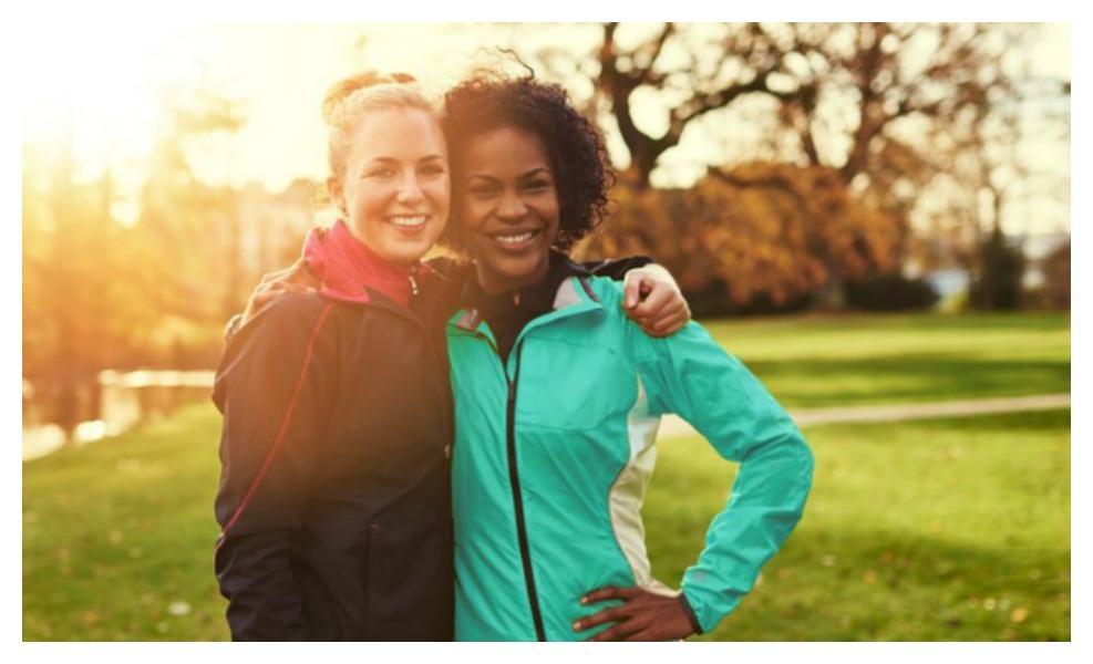 Walking can help women feel less alone