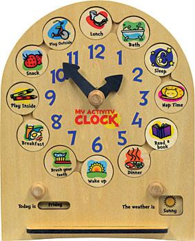 Image of: My Activity Clock