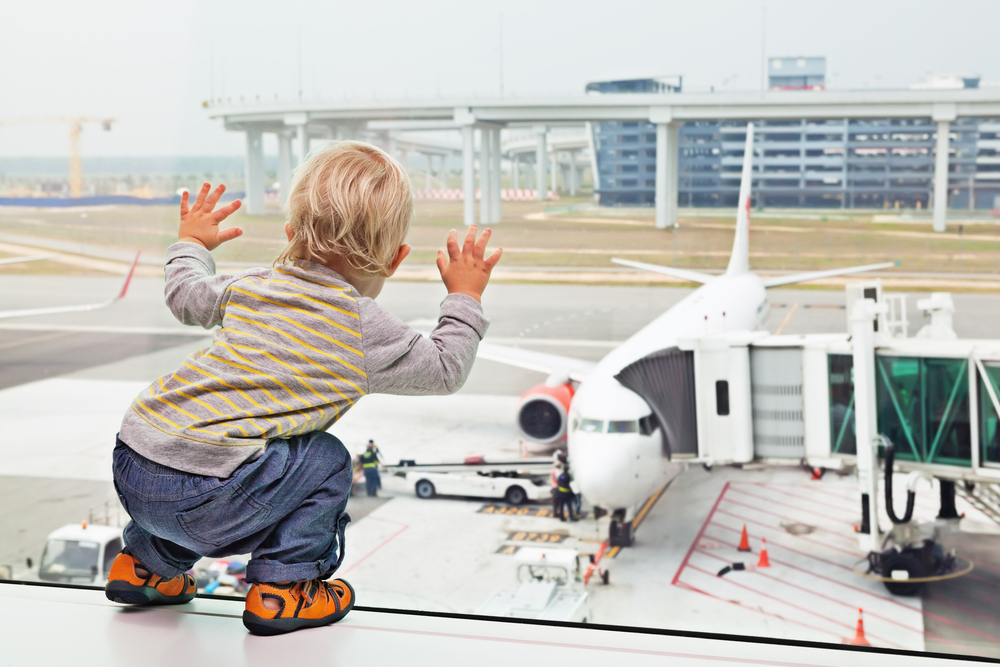 Taking your baby on her first flight can be a stressful experience.