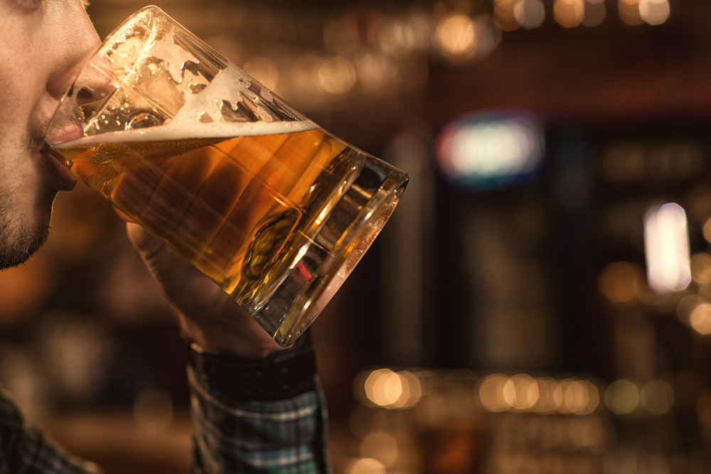 A new study shows that drinking alcohol boosts male fertility.