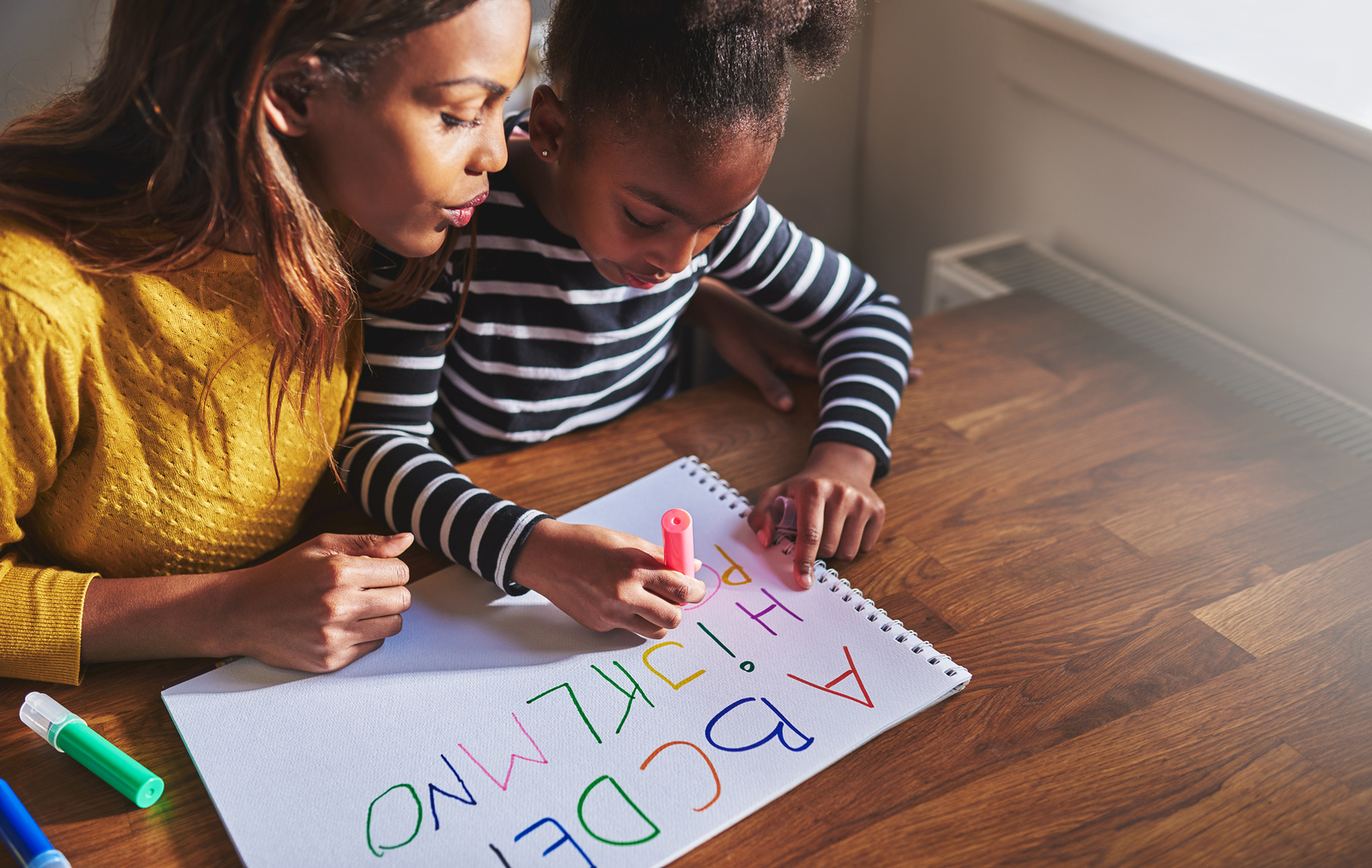 Learning the alphabet is a huge milestone for a little child.