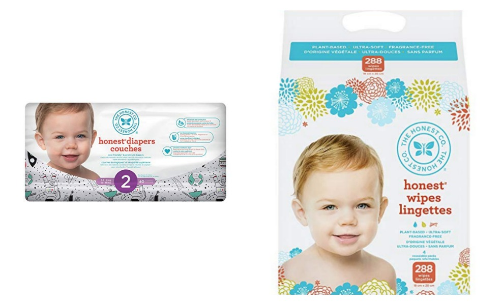 Prime day has a great sale on Honest Diapers and wipes
