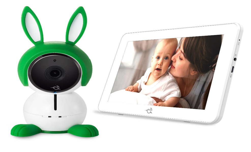 The Arlo Baby Smart Monitor lets you see into your baby's world.