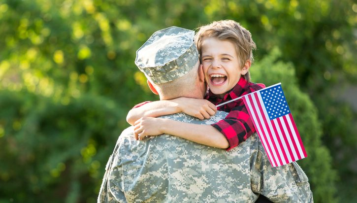 Here are some ways attachment parenting helps military kids thrive: