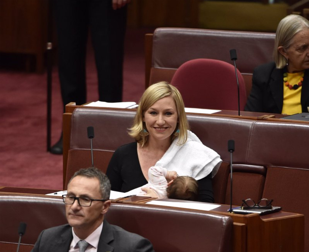 Australian Mama Makes History By Nursing Baby On Parliament Floor