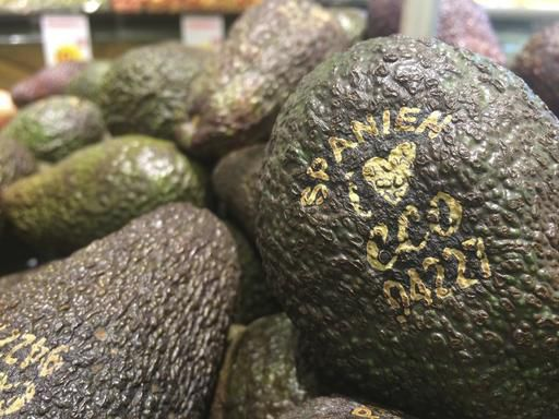 A supermarket in Sweden is trying out a new way to label vegetables.