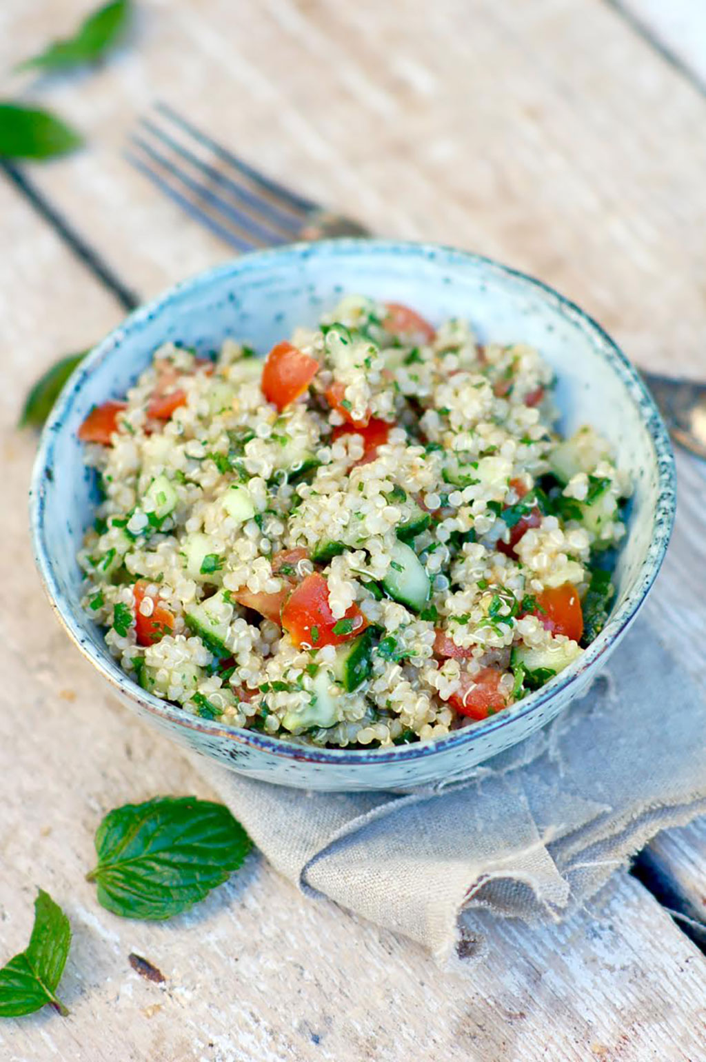 Easy, Healthy Recipe: Tabbouleh with Quinoa
