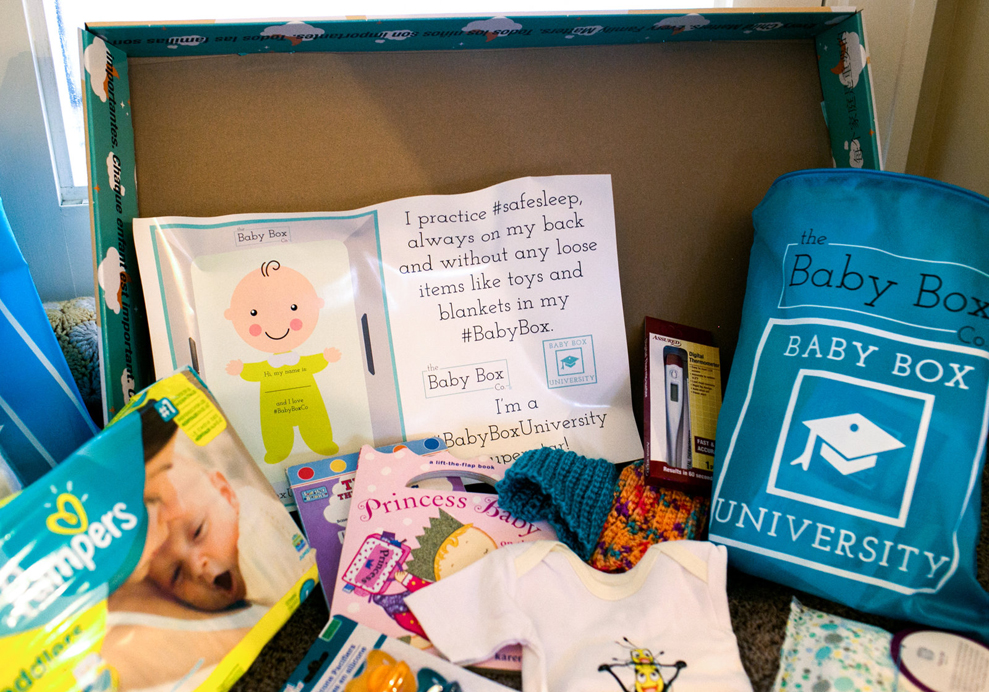 New Baby Boxes Aim to Reduce Sudden Infant Death Syndrome