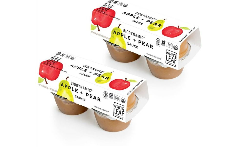 White Leaf is reinventing back-to-school lunches with biodynamic applesauce