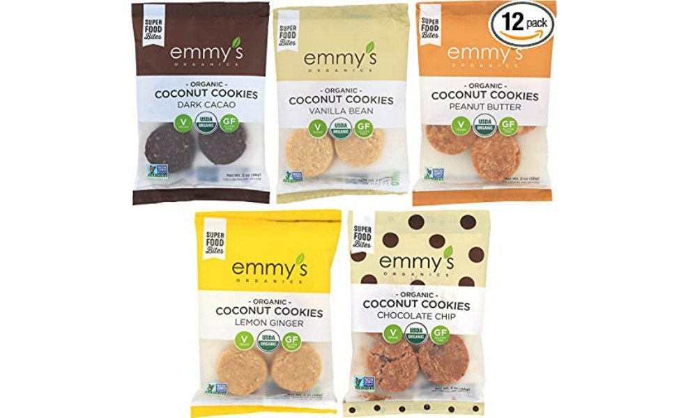Emmy's organics are cleaner cookies for back-to-school lunches