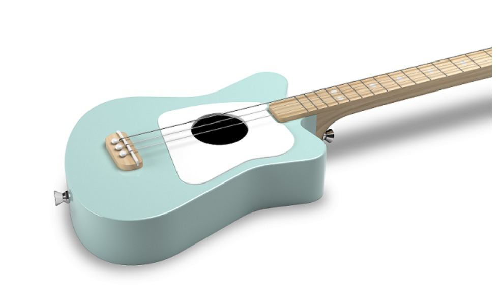 The Loog Guitar is a great guitar to start music lessons for kids