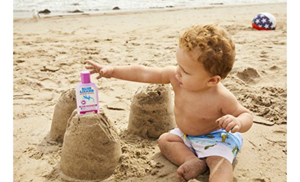 Blue Lizard is one of the best sunscreens for baby