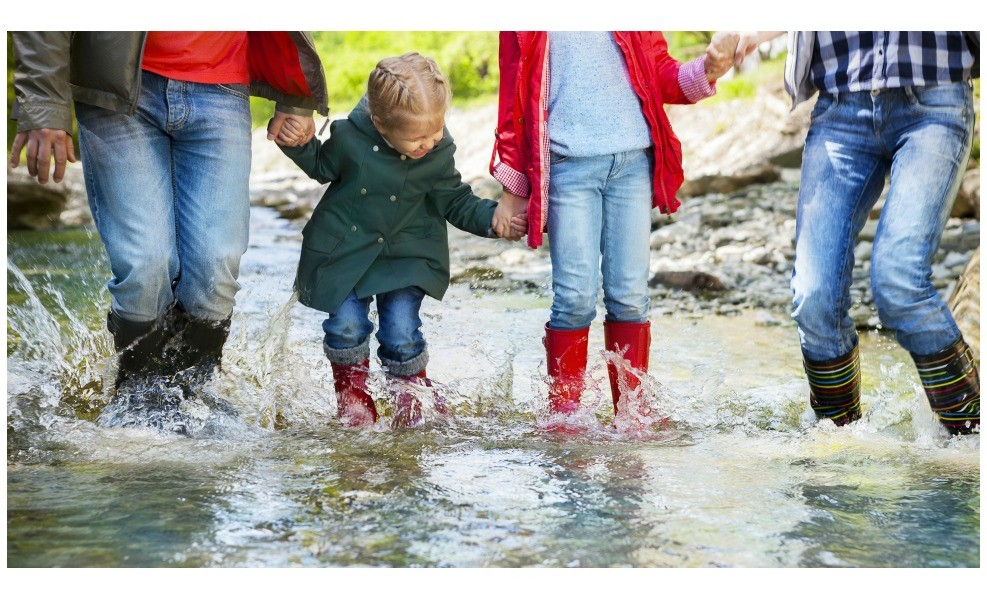 We've got the best eco-friendly rain boots for families.