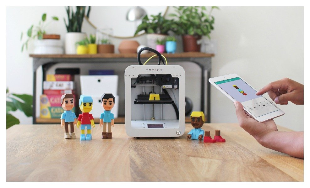 The Toybox 3D printer is a hot electronics kit for kids