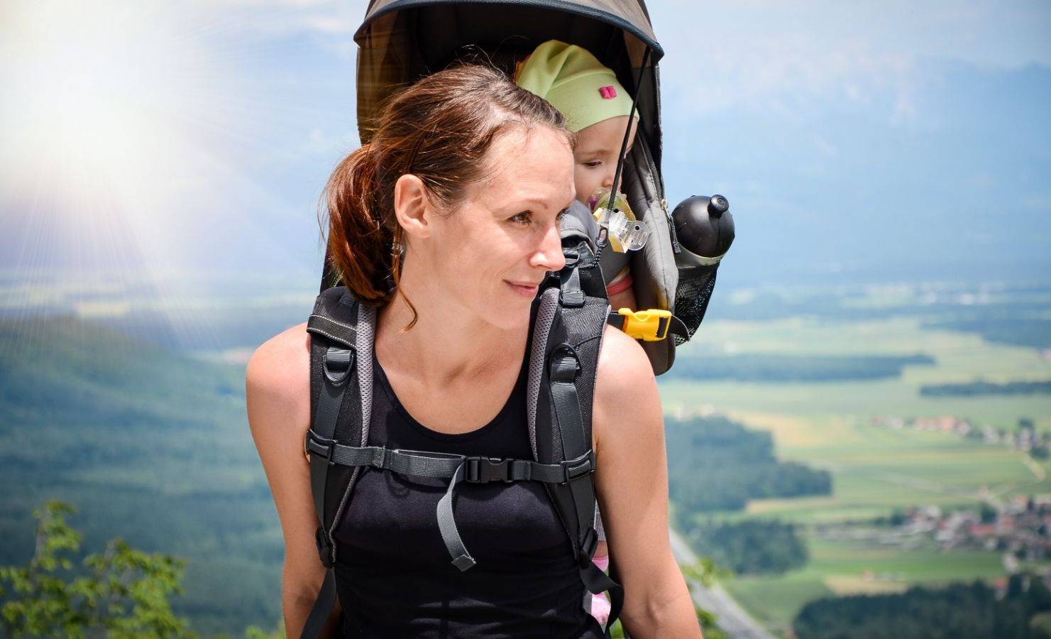 Mothering has the best hiking carriers for mamas and babies
