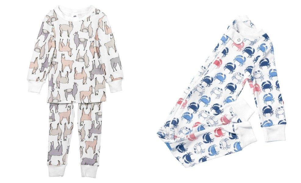 Elephant Organics offers fun gender neutral pajamas