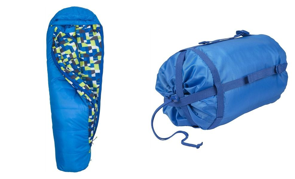 Marmot makes excellent sleeping bags for kids