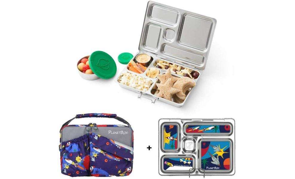 Planet Box's Rover is one of the best lunchboxes for kids