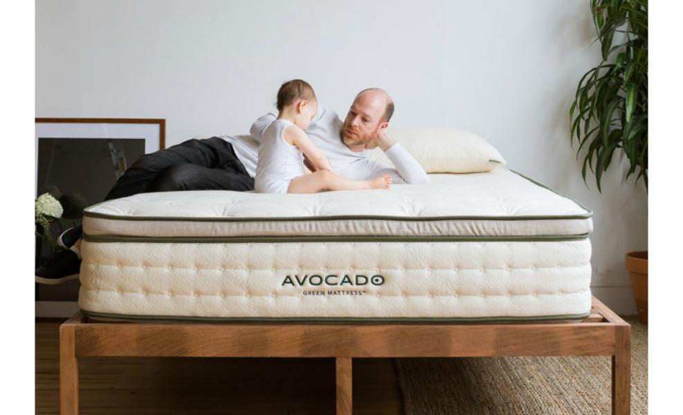 The avocado green mattress is our favorite organic mattress
