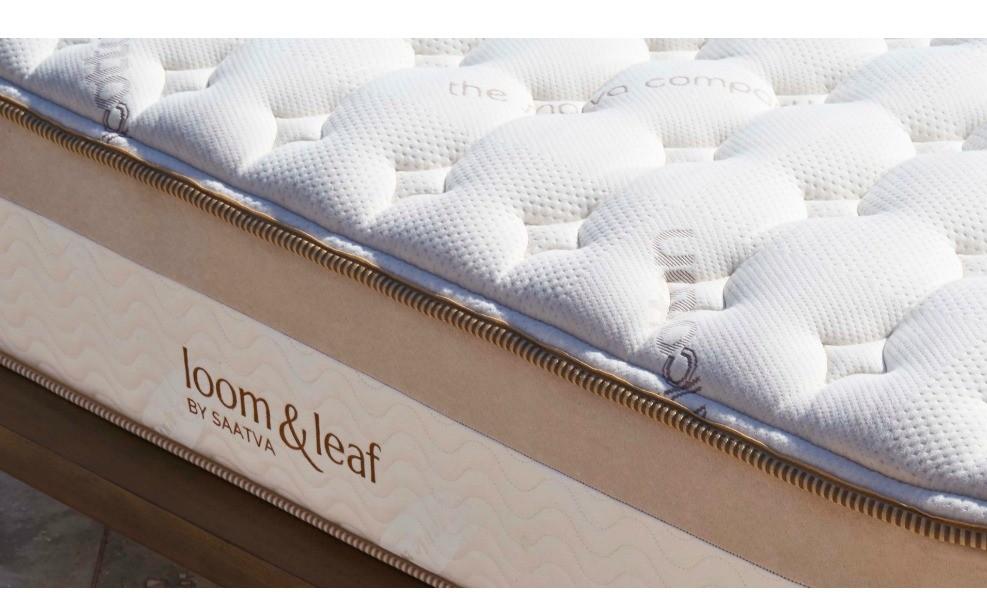 Saatva loom and leaf is a great organic mattress