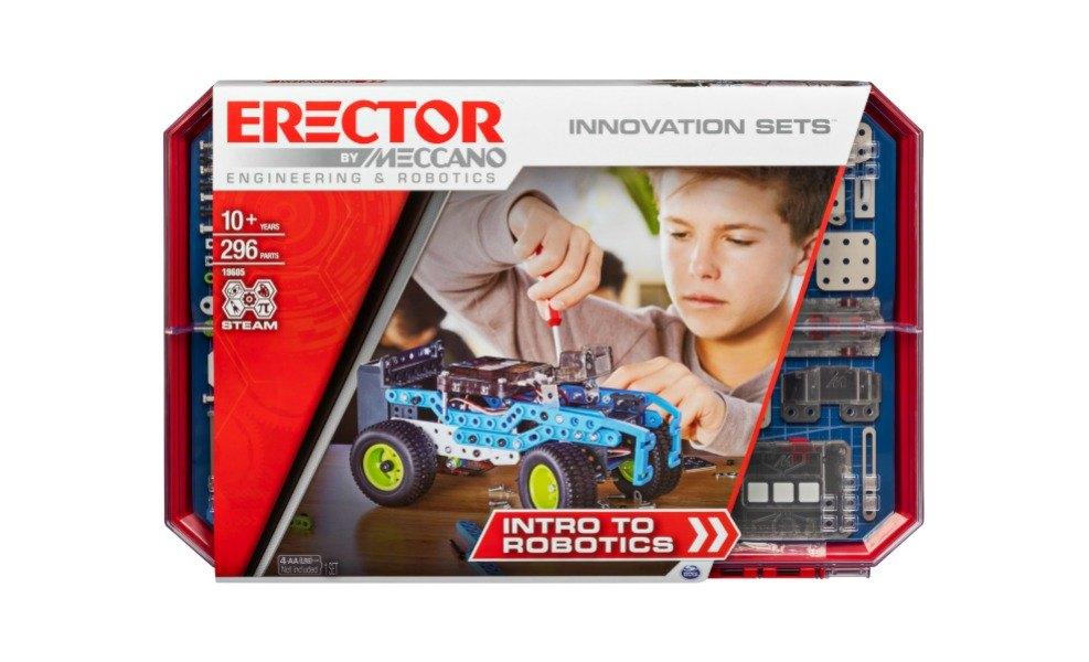 Meccano's Erector Intro to Robotics is a great robotics kit for kids