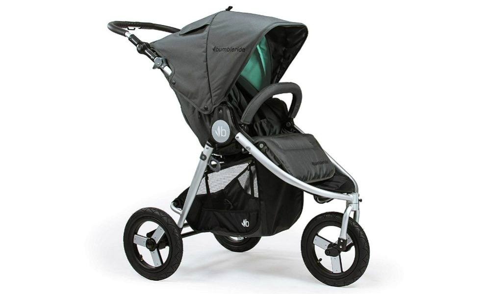 The Bumbleride Indie All Terrain is a great nontoxic stroller