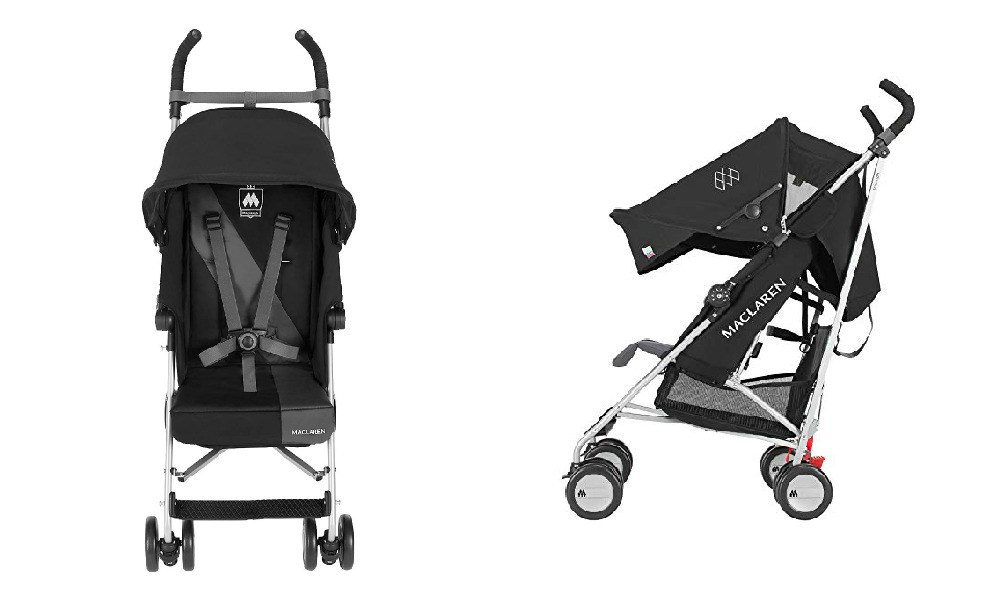 The Maclaren Triumph is a mom pick for best umbrella strollers
