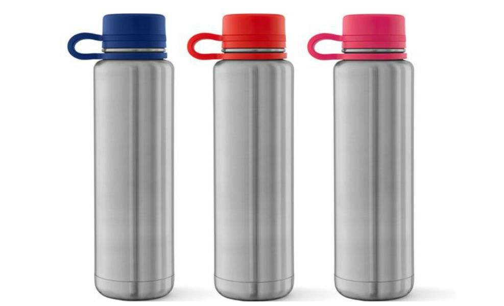 Planetbox's water bottle has a tethered lid for kids