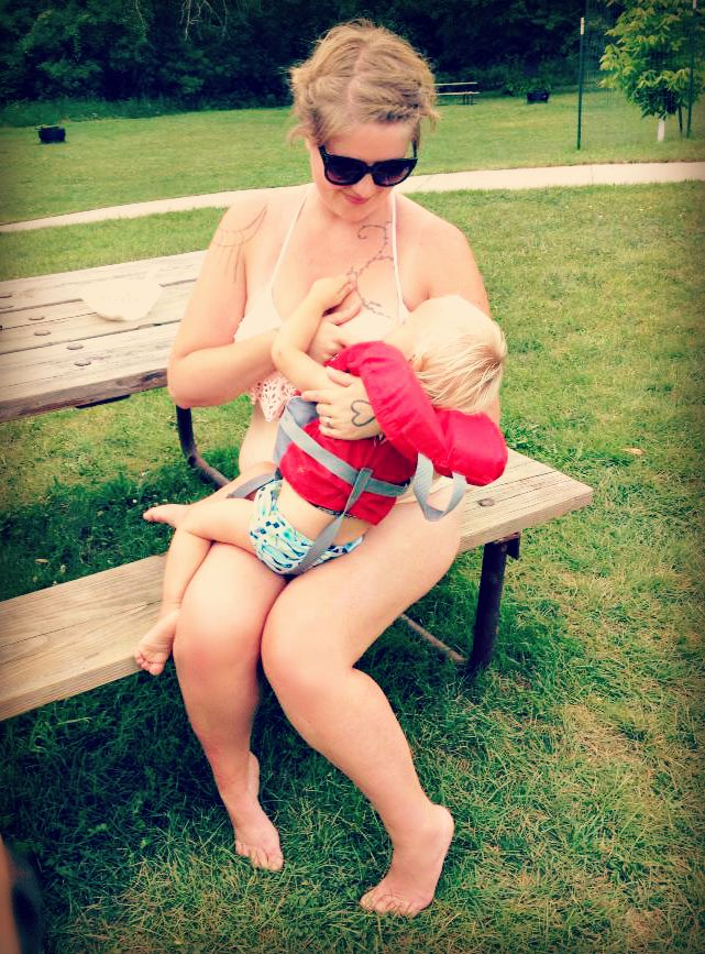 Why I Nursed in Public in a Bikini This Week