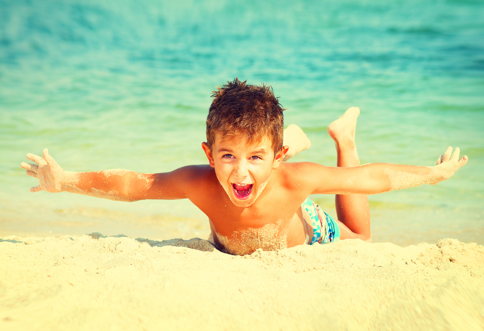 A recent survey revealed that nearly a third of parents believe that darker suntans are healthy for children.