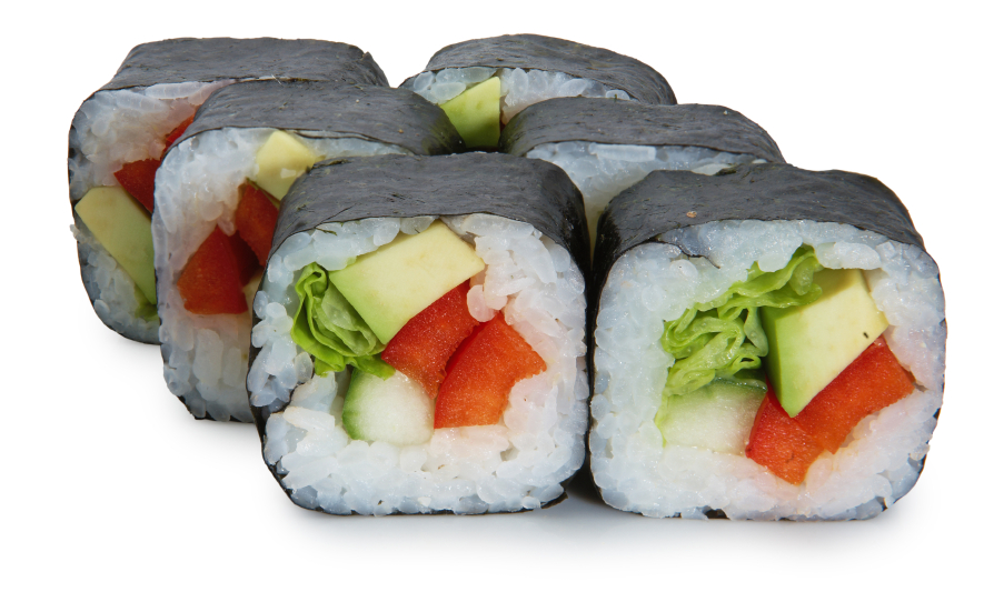 Get on a healthy roll, with BLT sushi rolls. It's fusion - an American favorite paired with Asian tradition.