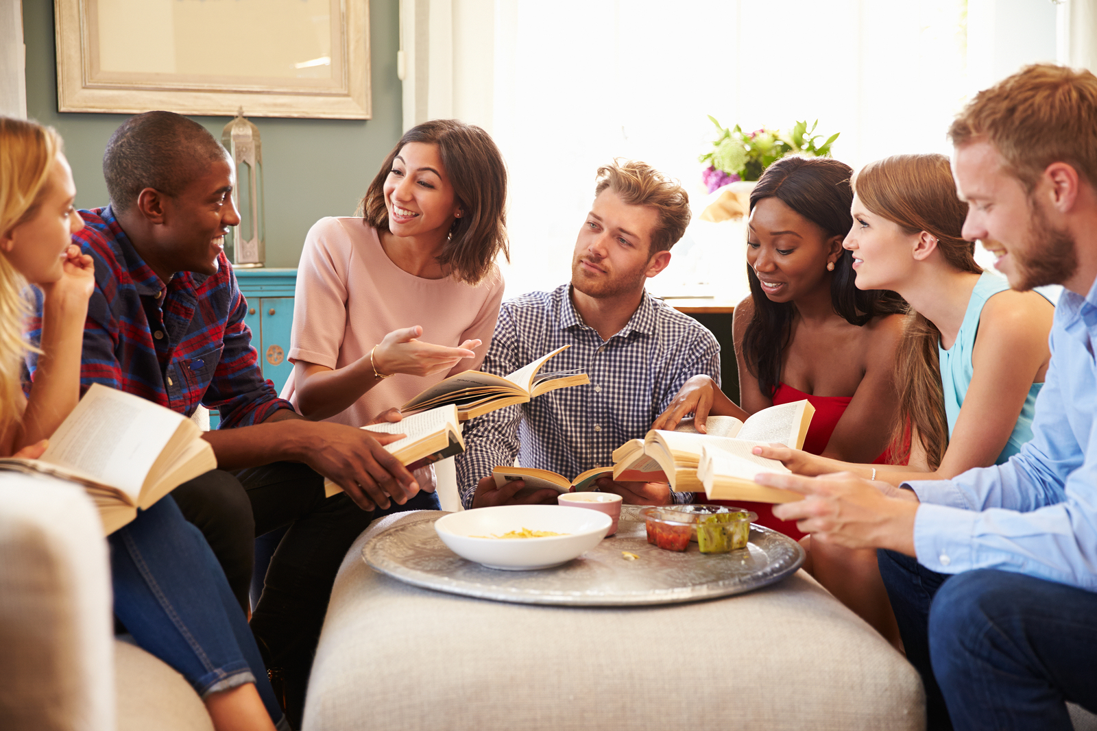 Here are some tips to help you get that book club started!