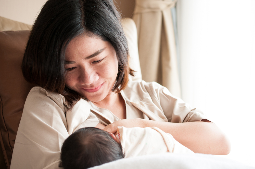 Breastfeeding for at least six months cuts a mother's risk of developing Type II diabetes in half.