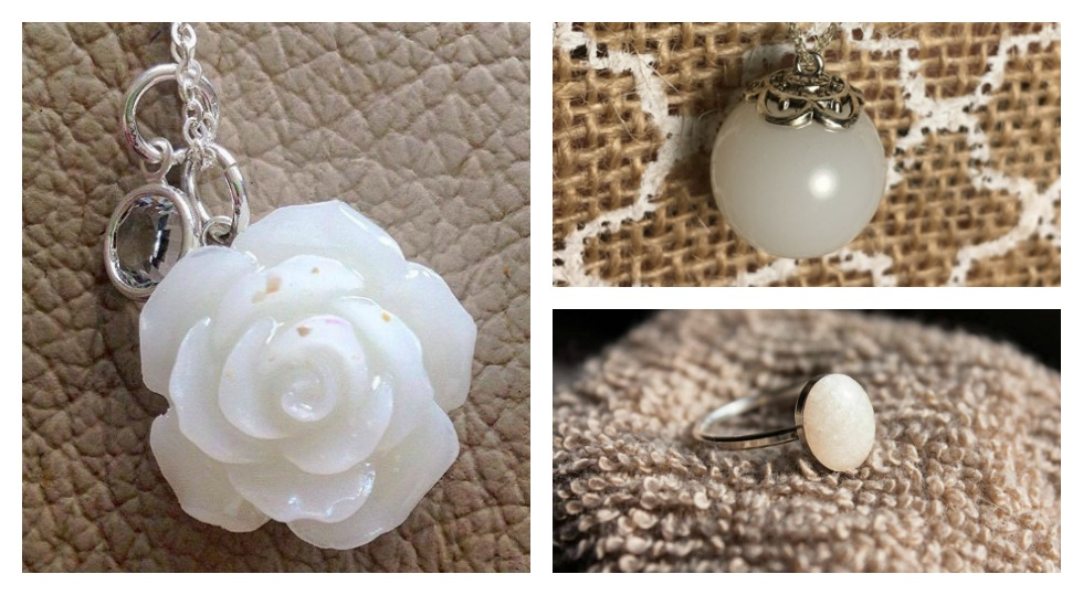 Your breast milk can be transformed into a beautiful piece of jewelry.