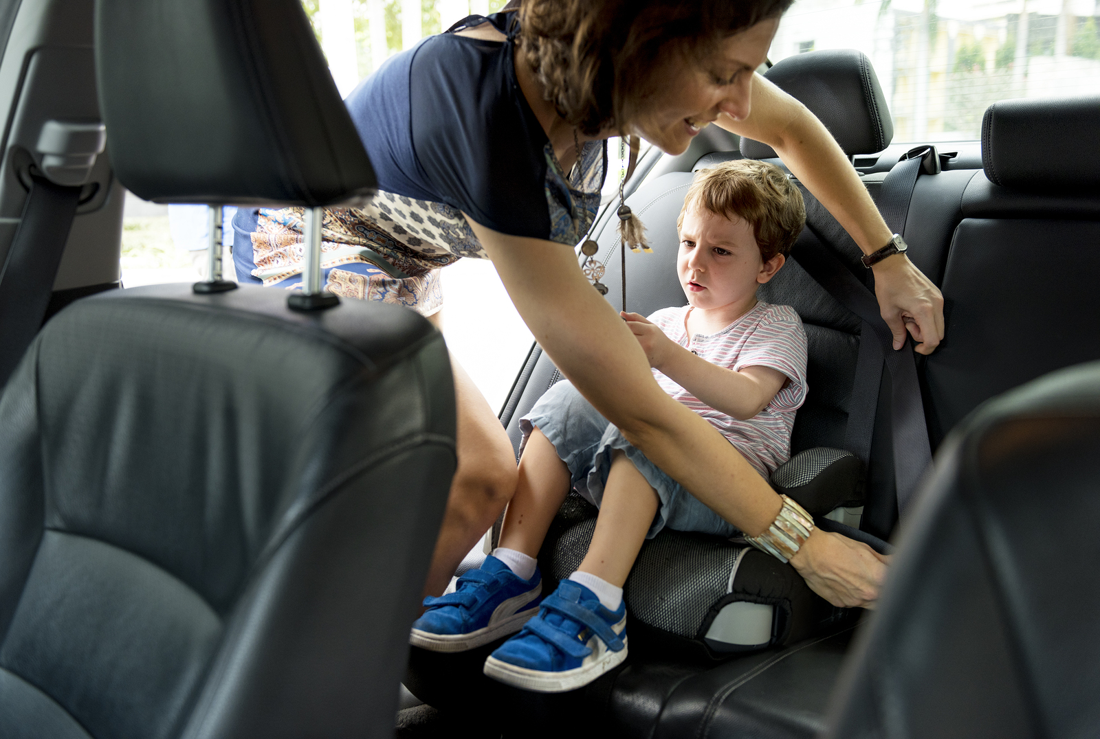 A new study reveals some scary stats about child car safety.