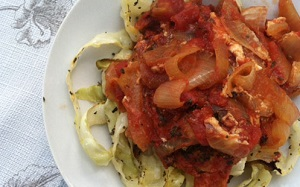 chicken-cacciatore-over-cabbage-noodles