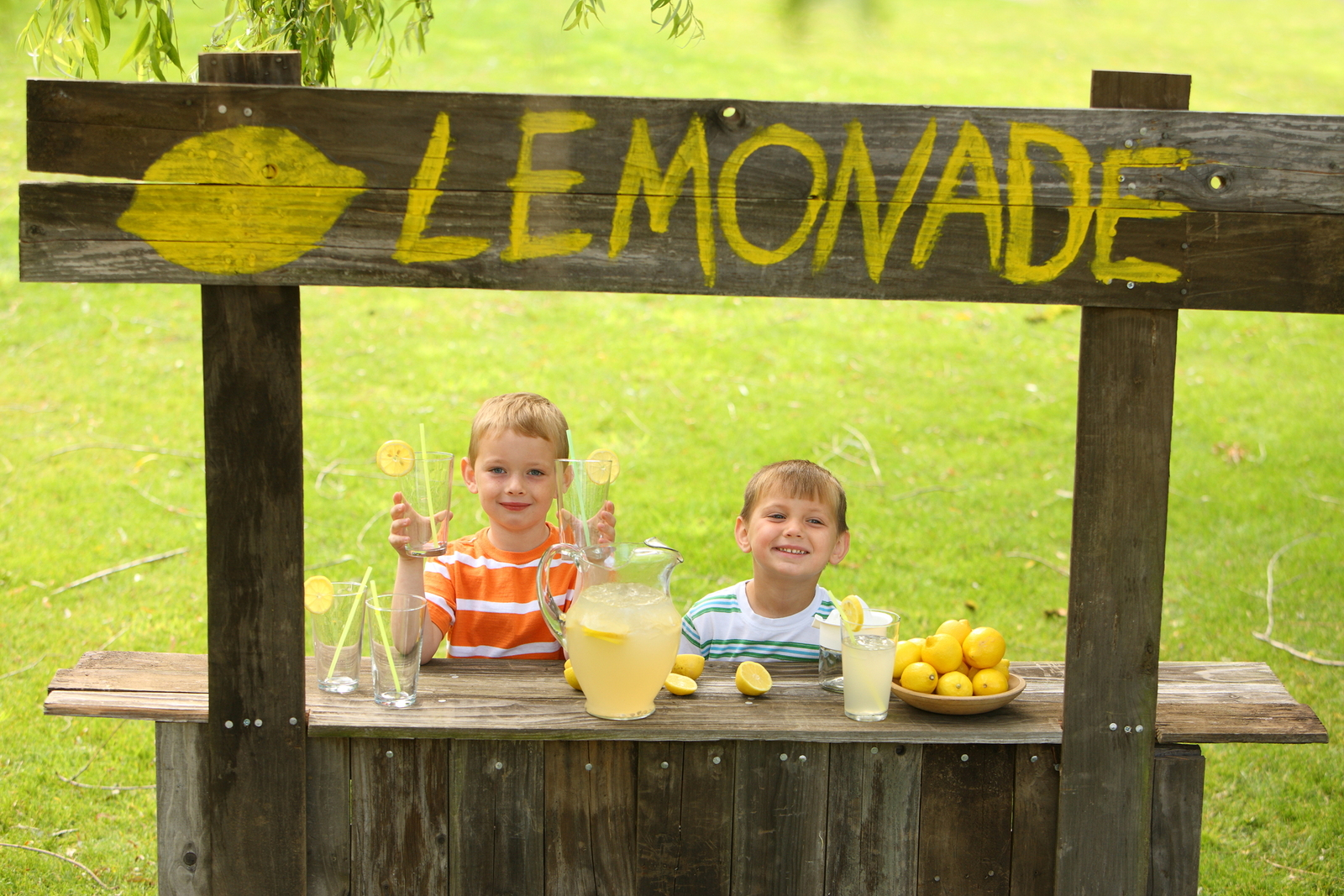 Here's how our writer encourages her son's entrepreneurial spirit.