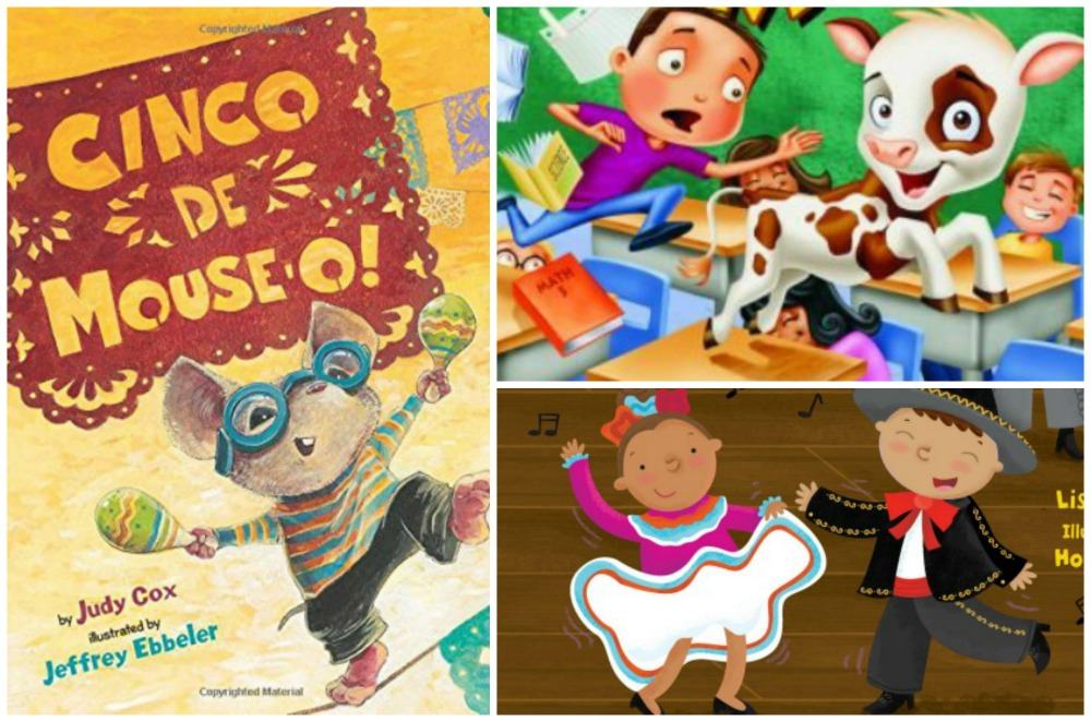 To celebrate, there are several books that share the story of Cinco de Mayo.