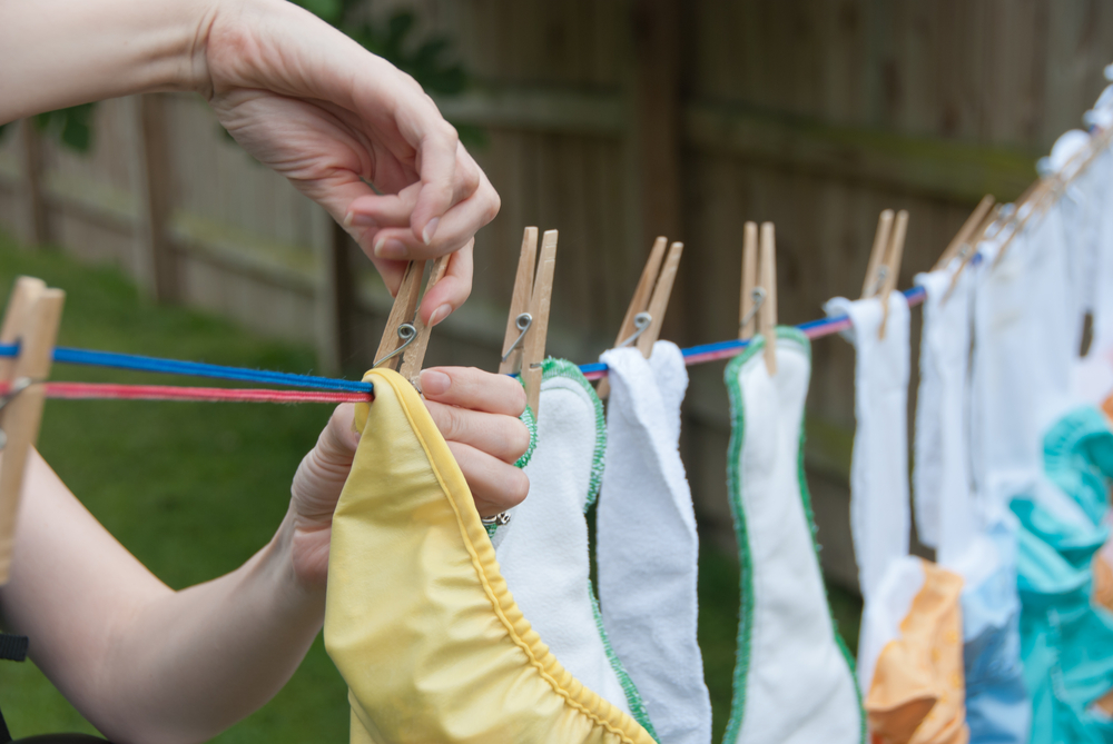 Here are five tips for cloth diapering on a tight budget.