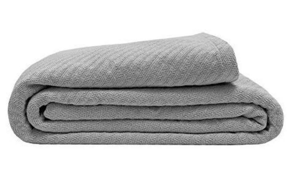 This organic blanket is perfect for dorm rooms